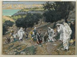 Jesus Healed The Blind Man The Miracle Of The Blind Man At Bethsaida The Lamp Of The Body