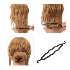 hair bun clip buy 3 in 1 hair accessories hair puff crocodile hair