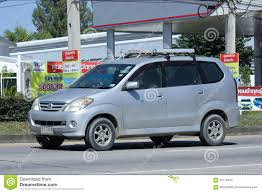 toyota mini car private toyota avanza car editorial stock photo image 62770343