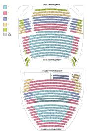 National Theatre Floor Plan by Seating Plan