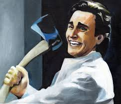 Christian Bale Axe Meme - patrick bateman by sullen skrewt on deviantart