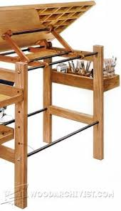 Woodworking Plans Light Table by Table Top Easel Plans Free Woodworking Projects U0026 Plans