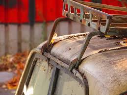 rusty car rusty roof rack mounted on a rusty car epicva