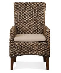 dining arm chairs upholstered mix n match dining chairs woven dining arm chair by riverside