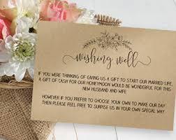 wedding wishes honeymoon wedding wish cards etsy