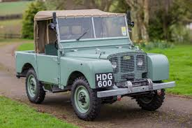 land rover series 1 iconic classic cars 1948 land rover series 1 jardine motors
