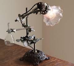 industrial lamp steampunk desk light by objectsofindustry on etsy