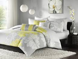 amazon com madison park lola 6 piece cotton duvet cover set