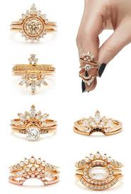 Wedding Rings by Best 25 Stacked Wedding Rings Ideas On Pinterest Stackable