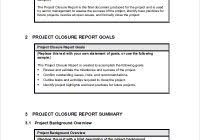 project closure report template ppt project closure report executive summary professional and high