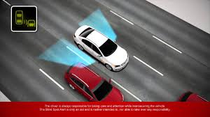 Blind Spot Alert Holden Technology Blind Spot Alert Myholden Connect Youtube