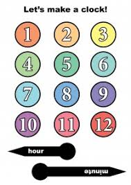 printable clock template without numbers best photos of make a clock template make your own clock printable