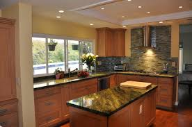 beautiful kitchen with recessed lighting taste