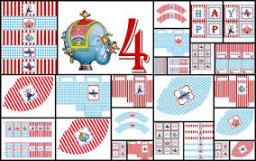 personalized party supplies printable diy personalized party supplies circus carnival