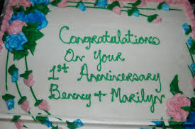 benny and marilyn u0027s anniversary cake sghwoodlandclassof78
