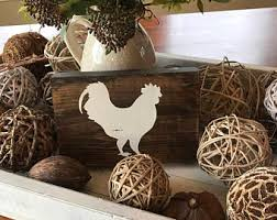 chicken decor etsy