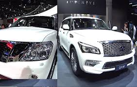 top biggest nissan u0026 infiniti suvs 2016 2017 model infiniti qx80