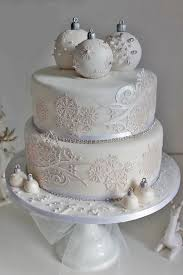 best 25 christmas wedding cakes ideas on pinterest winter