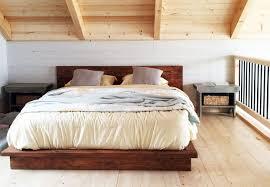 diy wooden platform bed feminine bedroom for teenage metal side