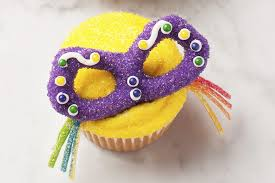 mardi gras candy masked cupcakes for mardi gras hello cupcake