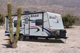 nash travel trailer floor plans northwood nash 22h