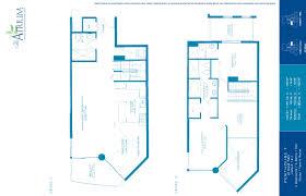 St Regis Residences Floor Plan by Atrium Condos For Sale Miami 3131 Ne 188 St Aventura 33180