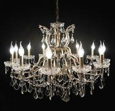 Vintage Glass Chandelier Vintage And Retro Ceiling Lights And Chandeliers Ebay