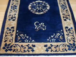 Handmade Wool Rug Royal Blue Chinese Rug From Elegantorientalrugs Com