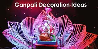 Decoration Themes For Ganesh Festival At Home by Ganpati Decorations Ideas Decorating Idea Inexpensive Fantastical