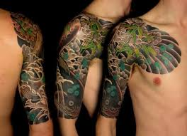 collection of 25 terrific japanese half sleeve and chest tattoos
