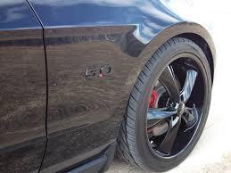 Black Mustang 5 0 5 0 Emblem Delete Mustang Evolution