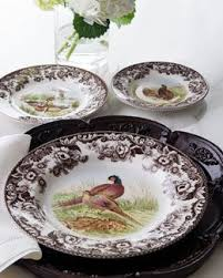 42 best spode woodland images on woodland table