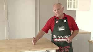 Bunnings Flooring Laminate How To Install A Bamboo Benchtop Diy At Bunnings Youtube