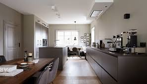 contemporary kitchen laminate stone island house hamburg