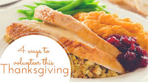 ways to help the less fortunate this thanksgiving