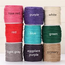 colored necklace cords images Buy 20m lot 2mm flax jute twine string hemp rope jpg