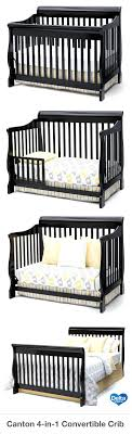 Delta Soho 5 In 1 Convertible Crib Black Convertible Crib With Storage Friday Baby Cribs