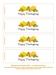 printable napkin rings for thanksgiving happy thanksgiving