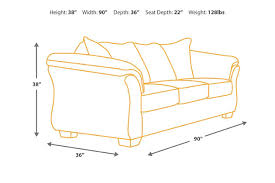 Sectional Sofa Dimensions by Bladen Sofa Ashley Furniture Homestore