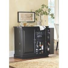 home decorators collection jamison black bar with expandable