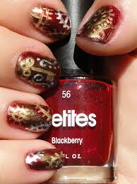 kelliegonzo nail art with megan simple steampunk
