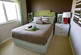 Dark Accent Wall In Small Bedroom Small Bedroom Decoration Trends Photo Small Design Ideas