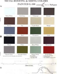 roofing u0026 siding colors