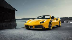 ferrari yellow and black novitec tunes ferrari 488 spider to 772 hp