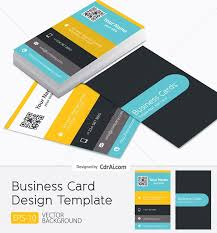 template business card cdr business and finance vectors free files in cdr ai eps format