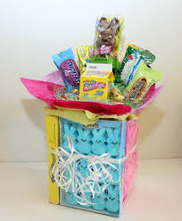 candy basket ideas easter candy bouquet ideas thriftyfun
