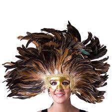 headdress mask natural
