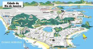 city map of brazil cities in brazil de janeiro suburbs