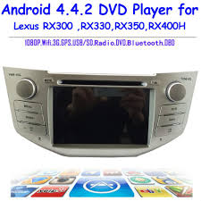 lexus rx300 sat nav disc location 2 din andriod 4 4 2 car dvd player with gps 3g wifi bluetooth for