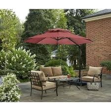Patio Umbrellas Offset Garden Treasures Patio Umbrella Garden Treasures Offset Patio